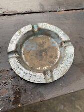 Vintage Circular Players Please Aluminium(?) Ashtray