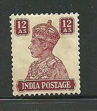 Album Treasures India Scott # 179  10a George VI Mint Hinged