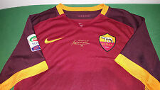 MAGLIA ROMA TOTTI SIGNED JERSEY NIKE AUTHENTIC BOX AUTOGRAPH no MATCH WORN