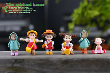 2pcs Cute Girls Fairy Resin Crafts Miniature Landscape Gardening DIY Decor New