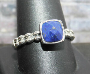 Angela by John Hardy 925 Sterling Silver Blue Lapis Ring