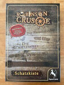Robinson Crusoe - SCHATZKISTE von Pegasus - ungespielt