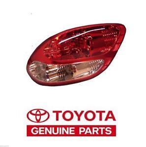 2003-2006 Genuine Toyota Tundra Stepside Right Rear Tail Light Taillight Lamp OE