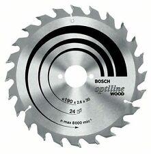 Bosch Optiline Wood circular saw blade 190 x 30 x 2.0 mm. 24 2608641185