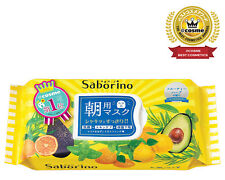 ☀BCL Saborino Morning Care  Face Mask Fruit & Herb 32 sheets