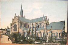Irish Postcard St Patrick'S Cathedral Church Dublin Ireland Lawrence 7130 Inland