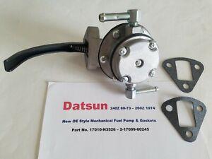 New Mechanical OE Style Fuel Pump fits Datsun 240Z & 260Z 1969-1974