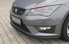 Rieger CUP Spoilerlippe für Seat Leon Cupra FR Frontspoiler Spoilerschwert ABS