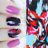 Water Decal Colorful Ink Painting Nail Art Transfer Sticker Manicure DIY Tips