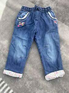Girls Jeans 12-18 Months