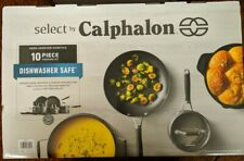 Select by Calphalon Hard Anodized Non-stick 10 Piece Cookware Set 08002 - New!Cr