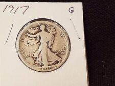 New listing 1917 Walking Liberty Half Dollar G