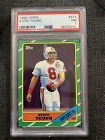 1986 Topps Steve Young Rookie RC #374 PSA 7 NM HOF San Francisco 49ers