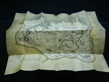 Elder Srolls V: Skyrim Parchment Map / Poster - Good Condition