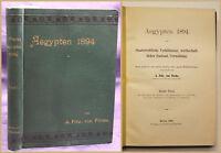 Fircks Aegypten 1895 Geografie Geographie Geschichte Wirtschaft Gesellschaft sf
