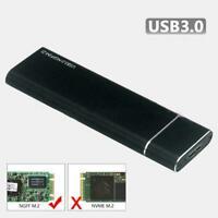 M.2 NGFF SSD Hard Disk Drive Case USB Type-C USB 3.1 PCIE Enclosure NVME Y3C6