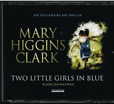 AUDIO BOOK Mary Higgins Clark TWO LITTLE GIRLS IN BLUE on 4 CDs Jane Maxwell