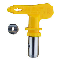 Airless Paint Spray Gun Flat Tip Nozzle For Titan Wagner Sprayer Yellow