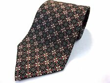 Burberry London Men's Silk Neck Tie Made in Italy Designer Geometric