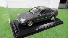 MERCEDES BENZ 500 SEL S-CLASS Gris AHG WACKENHUT o 1/43 MAISTO voiture miniature