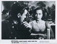 ROBERT WAGNER  SHIRLEY ANN FIELD  THE WAR LOVER 1962 VINTAGE PHOTO ORIGINAL N°6