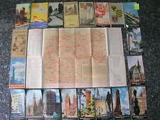 Shell Karte Shellkarte Straßenkarte Tourenkarte Stadtkarte Stadtplan 30er Jahre
