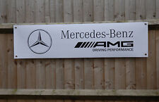 Mercedes AMG Banner Workshop Performance Garage Advertising pvc Sign