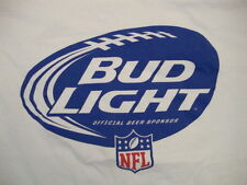 Bud Light Official Beer of NFL Bogey's Sports Pub Football Bar Party T Shirt XL