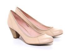 New Esprit Women's Sleek Court Shoes Black Brown Cream Beige Ladies Pumps Schuh
