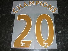 Official Sporting id Manchester United Champions 20 Gold Shirt Print Set