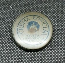 Vintage Medicine Tin:  Crema Egipcia, Venezuelan skin cream, empty