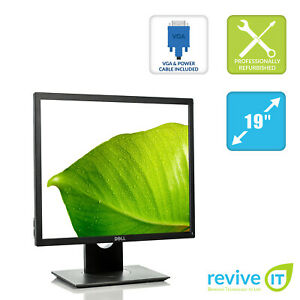 "Dell P1917S 19"" IPS LED Backlit LCD Monitor 1280x1024 HDMI DP VGA USB Grade B"