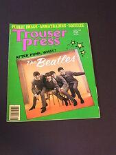 TROUSER PRESS British Rock & Roll Magazine THE BEATLES & ROMANTICS
