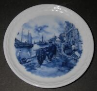 Ter Steege BV Delft Blauw Blue Coaster/Plate Hand Decorated Holland Art POTTERY