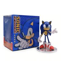 Anime Game Sonic 20th Anniversary Action Figure Collection Model Doll Toy