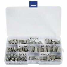Stainless Steel SAE Rivet Nut 8-32 10-24 1/4-20 5/16-18 3/8-16 Nutsert Rivnuts