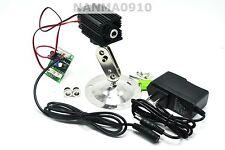 500mw 808nm Infrared IR Laser Diode Module Dot/Line/Cross w/12V Adapter & Holder