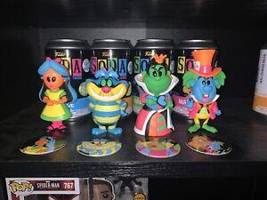 Funko Soda Alice In Wonderland Blacklight Bundle x4
