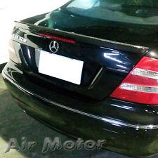 Carbon Fiber Mercedes Benz W209 CLK Class A Trunk Boot Spoiler CLK550 CLK63AMG