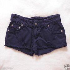 6da7bef825 Carmar púrpura con aspecto envejecido Pantalones Cortos De Mezclilla Talla  00  158