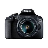 Canon EOS 2000D + EF-S 18-55mm IS II Fotocamera Reflex Nero 18Mpx