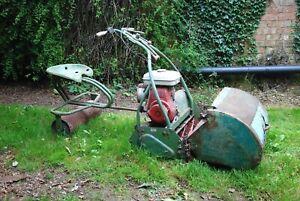vintage lawnmower petrol, 1970s Honda engine