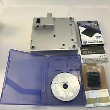 Nintendo  GameCube Game Boy Player Silver Console & Start Disc&Memory card 251