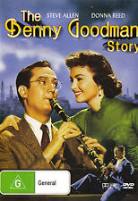 THE BENNY GOODMAN STORY Steve Allen / Donna Reed DVD R4 - PAL