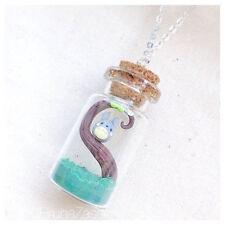 Collana Totoro in Boccetta ~ Cute Miyazaki Ghibli Necklace Fimo Polymer Clay