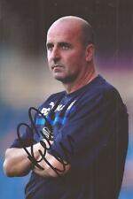 CHESTERFIELD * PAUL COOK SIGNED 6X4 ACTION PHOTO+COA