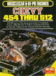 Musclecar & Hi-Po Engines Chevy 454 Yenko 502 512 496
