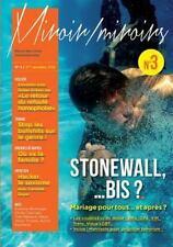 Stonewall... Bis ? les Oubliees du Mariage Pour Tous, un an Apres... . Revue...