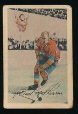 "1952-53 Parkhurst Hockey #11 JAMES ""BUD"" MacPHERSON (Montreal Canadiens)"