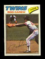 1977 Topps Cloth Stickers #10 Rod Carew Minnesota Twins HOF NM/MT